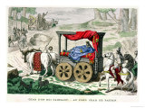 "The Chariot of One of the ""Rois Faineants"" Reproduction procédé giclée"