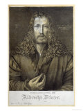 Self Portrait Aged 28, 1500 Gicl&#233;e-Druck von Albrecht D&#252;rer