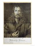 Self Portrait Aged 28, 1500 Giclee Print by Albrecht Dürer