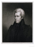 Andrew Jackson, 7th President of the United States of America Giclee Print by James Barton Longacre