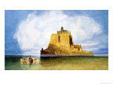 Mont Saint-Michel Giclee Print by John Sell Cotman