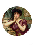 A Classical Beauty, 1901 Giclee Print by John William Godward