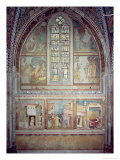Scenes from the Life of St. Francis Giclee Print by  Giotto di Bondone