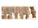 London Medical Papyrus, New Kingdom, circa 1325 BC Giclee Print by 18th Dynasty Egyptian