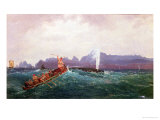 A Whaling Scene Giclee Print by Cornelius Krieghoff