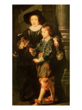 Albert and Nicholas Giclee Print by Peter Paul Rubens