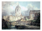 Christ Church, Oxford Giclee Print by William Turner