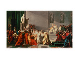 Death of Julius Caesar Giclee Print by Vincenzo Camuccini