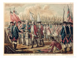 The Surrender of Yorktown, 17th October 1781 Giclee Print by Jean Jacques Francois Le Barbier