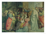 The Wise and Foolish Virgins Giclee Print by Peter Von Cornelius
