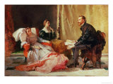 Tasso and Elenora D'Este Giclee Print by Domenico Morelli