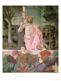 The Resurrection, circa 1463 Reproduction procédé giclée par Piero della Francesca