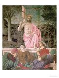 Piero della Francesca - The Resurrection, circa 1463 - Giclee Baskı