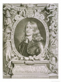 "Frederick William (1620-88) Elector of Brandenburg, from ""Portraits Des Hommes Illustres"" Giclee Print by Anselmus Van Hulle"
