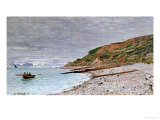 La Pointe De La Heve, 1864 Giclee Print by Claude Monet