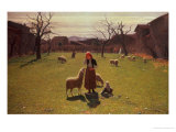Deluded Hopes Giclee Print by Giuseppe Pellizza da Volpedo