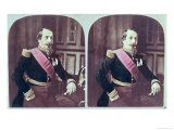 Napoleon III, circa 1860, Coloured Stereoscopic Photograph Taken Between 1860 and 1870 Giclee Print