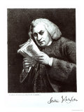 Samuel Johnson Reproduction procédé giclée par Joshua Reynolds