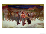 Fiumana 1895-96 Giclee Print by Giuseppe Pellizza da Volpedo