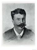 Guy De Maupassant Giclee Print by Henri Gervex