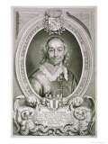 "Alexander Erskein (D.1656) from ""Portraits Des Hommes Illustres"" Giclee Print by Anselmus Van Hulle"