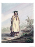 Young Woman of Tahiti, circa 1841-48 Giclee Print by Maximilien Radiguet