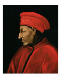 Portrait of Cosimo De'Medici Copied from Jacopo Pontormo Painting of 1518 Giclee Print by Alessandro Pieroni