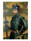Sebastian De Benalcazar Giclee Print by Eladio Sevilla II