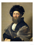 Portrait of Baldassare Castiglione Before 1516 Giclee Print by Raphael