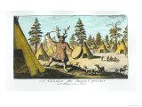 Native American Shaman Giclee Print