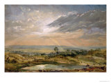 Branch Hill Pond, Hampstead Giclee Print by John Constable