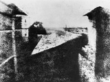 View from a Window at Le Gras, Saint-Loup-De-Varennes, 1827 Photographic Print by Joseph Nicephore Niepce