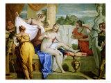 Bathsheba Bathing, circa 1725 Giclée-tryk af Sebastiano Ricci