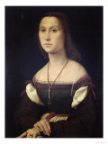 Portrait of a Woman, 1507 Impression giclée par  Raphael