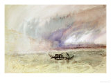 A Storm on the Lagoon, Venice Giclee Print by William Turner