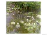 Waterlilies at Midday, 1918 Giclee Print by Claude Monet