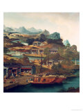 Tea Trade in China (Detail) Giclee Print by George Chinnery