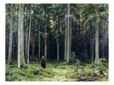 Countess Mordvinov's Forest, 1891 Reproduction procédé giclée par Ivan Ivanovitch Shishkin