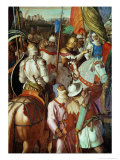 The Saracen Army Outside Paris, 730-32 AD Giclee Print by Julius Schnorr von Carolsfeld