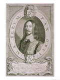 "Johan Axelsson Oxenstierna (1611-57) Count of Sodermore, from ""Portraits Des Hommes Illustres"" Giclee Print by Anselmus Van Hulle"