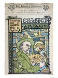 """Portrait of Eugene Grasset from """"Les Hommes D'Aujourd'Hui"""" Giclee Print by Paul Berthon"""