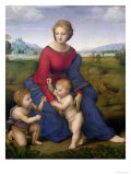 Madonna in the Meadow, 1505 or 1506 Giclee Print by  Raphael