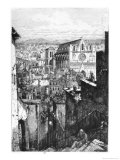 View of Saint-Jean Church, Lyon, Mid-19th Century Reproduction procédé giclée par Gabrielle Marie Niel