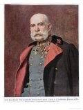 Portrait of Kaiser Franz Joseph I 1904-5 Giclee Print by Leopold Stephan Horovitz