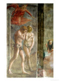 Adam and Eve Banished from Paradise, circa 1427 (Pre-Restoration) Giclee Print by Tommaso Masaccio