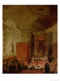 The Passing of the Reform Bill in 1832 Giclee Print by Samuel William I Reynolds