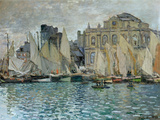 View of Le Havre, 1873 Premium Giclee Print by Claude Monet