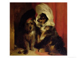 Comical Dogs, 1836 Giclee Print by Edwin Henry Landseer