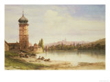 Prague, Czechoslovakia Giclee Print by William Wyld