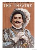 Poster Depicting Enrico Caruso as 'Rigoletto', 1912